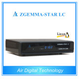 Receptor de TV por cable original Enigma2 receptor Zgemma-Star LC DVBC Digital