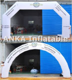 Customized Inflatable LED Light Archway para Eventos na Noite