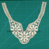 Accessori per il vestiario della decorazione del collare del merletto del Crochet del tessuto di cotone del ricamo di modo