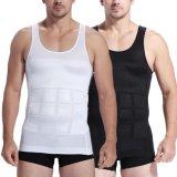 Biancheria intima dello Shaper del corpo degli uomini della maglia di sport degli uomini di compressione