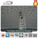 55m Diametra 가장 큰 지오데식 돔 천막 구조 큰천막