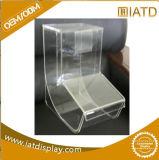 Joyas de la caja de acrílico transparente para botella de vino/CAP/Rugby/Bird