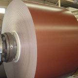 la hoja de arraigo PPGI del material de construcción de 0.14-0.8m m prepintó la bobina de acero galvanizada