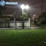 lampe solaire légère extérieure de jardin de rue de 12W DEL avec le détecteur de mouvement