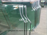 Ausgeglichenes Dusche-Bildschirm-Glas mit exaktem Loch-Schlitz