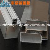 Profils en aluminium en bronze enduits de poudre de châssis de fenêtre