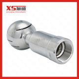 """1.5 """" gicleur sanitaire de nettoyage de réservoir de bride de l'acier inoxydable AISI304 tri"""
