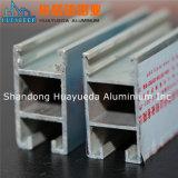 6063-T5 anodizó Champán, perfil negro anodizado del aluminio de la protuberancia