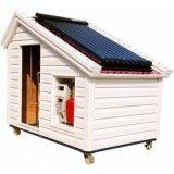 Sistema de aquecedor de água solar de alta pressão pressurizada