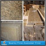 De goedkopere Opgepoetste Natuurlijke Steen van het Graniet van de Huid van de Tijger Gele/Witte/Rode