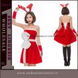 2018 Sexy encantadora Santa cariño adulto Disfraz de vestido de Navidad (TLQZ051)
