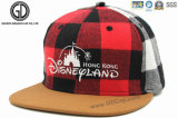La alta calidad comprobó el casquillo del Snapback de Disney Hiphot para el adulto y el niño con el bordado