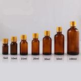 Botellas de petróleo esencial vacías de la botella de cristal