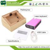 Teclado sem fio do laser de Bluetooth do melhor vendedor com altofalante de Bluetooth