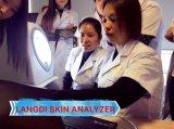 Máquina de analisador de pele facial e pele Fornecedor Analisador magnética do scanner