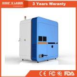 Fibre optique haute vitesse petite machine de découpe laser en métal avec 3 ans de garantie
