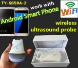 Scanner sans fil d'ultrason avec le logiciel d'ultrason pour l'iPhone d'iPad et les smartphones androïdes