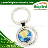 Couche CD ronde autocollant pour les touristes de souvenirs de chaîne de clé (K103CD)