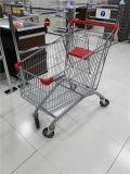 Il più bene in linea carrello europeo di acquisto del supermercato con la sede del bambino