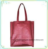 Non-Wovenショッピングによって薄板にされる袋の非編まれたギフト袋非編まれた袋
