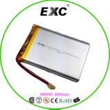 Exc906090 6000mAh nachladbare Lithium-Plastik-Batterie für Kartenleser