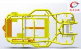 Parti del blocco per grafici ATV dell'attrezzo a motore con il rivestimento della polvere