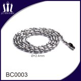 Hot Selling Color Bead Connector Jewelry 2.4mm Ball Chain