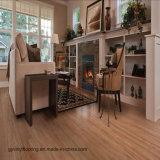 Sécher l'étage en bois attrayant arrière de vinyle de configuration