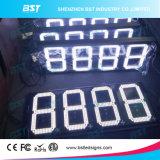 屋外の防水白いカラーガス代LEDの印(8888)