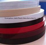 2 mm de PVC de bandes de chant du grain du bois fraise de bandes de chant