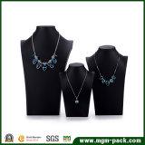 Carrinho de indicador preto luxuoso Handmade da jóia