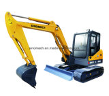 N° 1 Sinomach Hot Vente de 0,22 m3 d'équipements machinerie de construction de génie 6 tonnes mini-excavatrice chenillée hydraulique