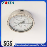 Medidor de pressão Ss de 4 polegadas com direção radial