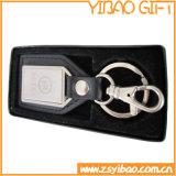 Chaîne principale en cuir promotionnelle avec le cadre de papier (YB-LK-09)