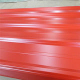 Hoja de acero galvanizada acanalada casa del material para techos del producto de acero Q235B