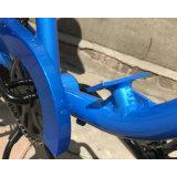 De blauwe GT-2b 26 Duim Gemotoriseerde Fiets van de Motor van de Benzine, het Rennen Fiets, de Fiets van de Motor van de Berg