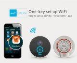 Intelligente Türklingel-Kamera WiFi die videowechselsprechanlage, die durch androides Telefon IPhoneiso in der Nacht Verison bidirektional ist und imprägniern