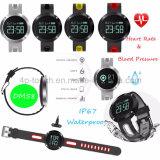 Bracelete esperto de IP67waterproof com o monitor da frequência cardíaca e o monitor Dm58 da pressão sanguínea