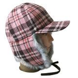 El casquillo caliente del invierno de la venta con el hombre hizo la piel (VT030)
