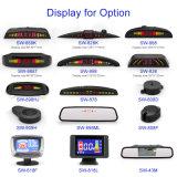 차 반전을%s 4대의 센서를 가진 LCD 주차 센서 화면 표시 모니터 Rearview 차 주차 원조