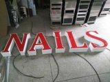 옥외 3D LED 표시 아크릴 알루미늄 Matel 편지