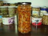ガラス瓶の370mlによってNamekoの缶詰にされるきのこ