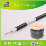 RG6 RG59 RG58 RG213 Kx6 Câble coaxial avec RoHS