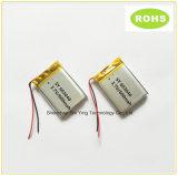 Batterie au lithium rechargeable du polymère 602030-300mAh de l'usine 3.7V de batterie