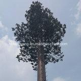 熱いすくいの亜鉛めっきおよび人工的な吠え声によってごまかされる松の木の通信塔