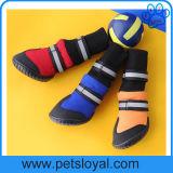 Laarzen van de Hond van de Schoenen van het Huisdier van de Luxe van de fabrikant de In het groot Middelgrote en Grote