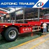 Wellen-Flachbettbehälter-halb Schlussteil der China-Fertigung-3 für Verkauf