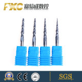 Carbide Taper Ball Nose End Mills Coated Taper Milling Cutter