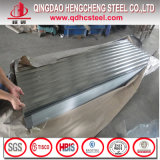 JIS G3312 galvanisiertes gewölbtes Zink-Eisen-Stahldach-Blatt