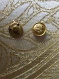 Accessoires du vêtement de gros bouton métallique rond Couture pour les vêtements